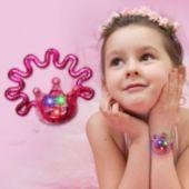 Pink Crown Light Up Bracelet