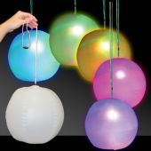 "LED Beach Ball - 12"" Multi-Color, 1 Each"