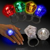 LED Diamond Rings-12 Pack