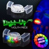 LED Flashing Mouthpiece - 12 Pack