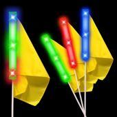 "14"" Rainbow LED Golf Flag Marker"