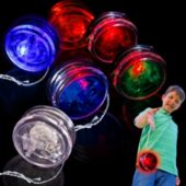 Red LED and Light-Up YoYo-12 Pack