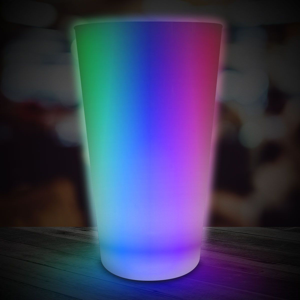 Rainbow LED and Light-Up Cup-16oz LIT513EA