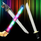 Multi-Color LED Foam Sword - 27 Inch