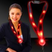 Red LED Lanyard