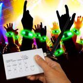 RF LED and Light-Up Concert Bracelet Kit for 20 People