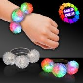 Multi-Color LED Porcupine Bracelet
