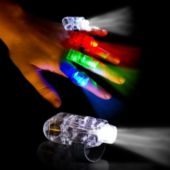 LED Finger Light Rings - 12 Pack