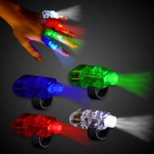 LED Finger Light Rings-12 Pack