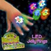 LED Dolphin Jelly Rings-24 Pack