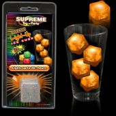 Orange LED Ice Cube-Retail Pack