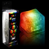 Rainbow LED Ice Cubes - 4 Pack