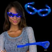 Blue LED Sunglasses