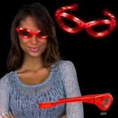 Red LED Sunglasses