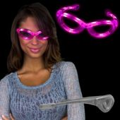 Pink LED and Light-Up Sunglasses