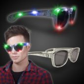 Multi Color LED Wayfarer Sunglasses