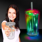 LED Double Wall Cup-16oz