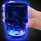 LED Skull 14oz Cup