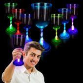 LED Wine Glass-10oz