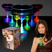 LED Margarita Glass-10oz