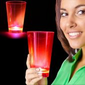 Neon Pink LED and Light-Up Cup-12oz