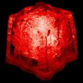 Red LED Ice Cubes-24 Pack