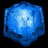 Blue LED Ice Cubes-24 Pack
