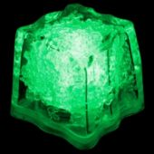Green LED Ice Cubes-24 Pack