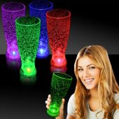 LED Bubble Pilsner Glass-24oz