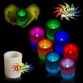 Multi-Color Battery Operated Flameless LED Votive Candle