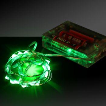 String Of Green Lights : Green LED String Lights Windy City Novelties