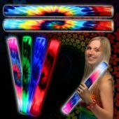 Tie Dye LED and Light-Up Lumiton Baton - 16 Inch