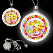Cinco De Mayo LED and Light-Up Pendant Necklace