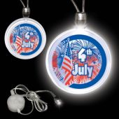Patriotic Flag LED Necklace