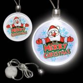 Merry Christmas LED and Light-Up Necklace
