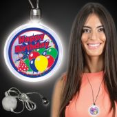 Birthday LED and Light-Up Necklace