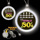 Totally 80's LED Pendant Necklace