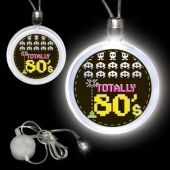 Totally 80's LED and Light-Up Pendant Necklace