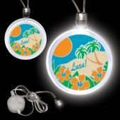 Luau Party LED Pendant Necklace