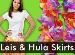 Leis & Hula Skirts
