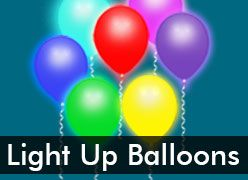 LED Balloons, Lumi-Loons & Balloon Lights