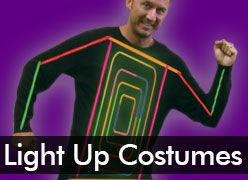 Light Up Costumes & EL Wire Clothing