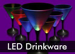 LED Drinkware & Light Up Glassware