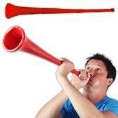28 Inch Red Stadium Horn
