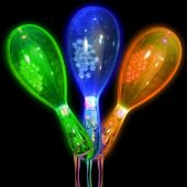 LED Party Maracas-12 Pack
