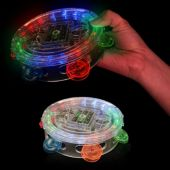 Flashing Multi-Color LED Tambourine
