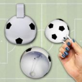 """Soccer 3 1/2"""" Cowbells - 12 Pack"""