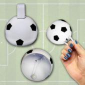 Soccer Metal Cowbells-12 Pack