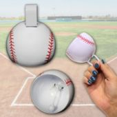 "Baseball Metal Cowbells-31/2""-12 Pack"
