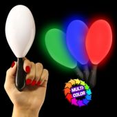 Multi-Color LED Maraca - 7 Inch
